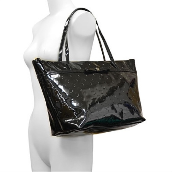 kate spade Handbags - *Kate Spade* Patent Leather Camellia Tote/Purse♠️